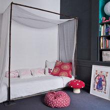 Фотография: Детская в стиле Кантри, Минимализм, Квартира, Цвет в интерьере, Дома и квартиры, Париж, Бирюзовый – фото на InMyRoom.ru