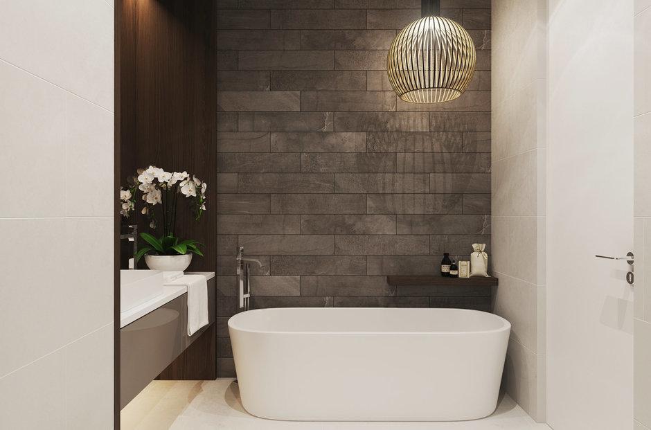 Фотография: Ванная в стиле Лофт, Современный, Квартира, Минимализм, Проект недели – фото на InMyRoom.ru