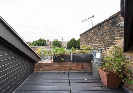 Фотография: Терраса в стиле Лофт, Квартира, Дома и квартиры, Лондон, Мансарда – фото на InMyRoom.ru