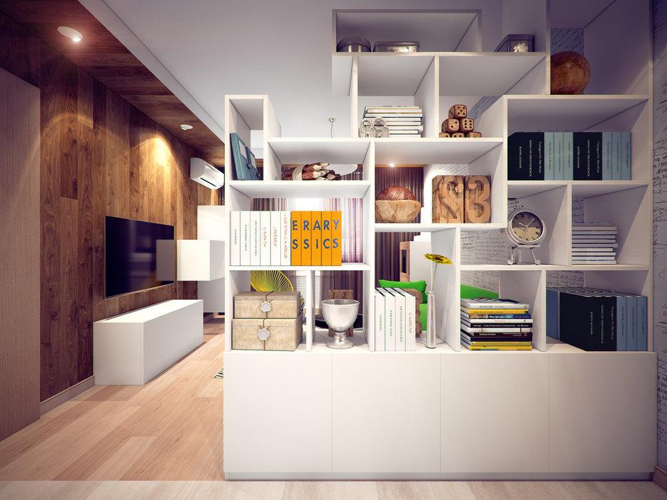 Фотография: Гостиная в стиле Лофт, Современный, Квартира, Дома и квартиры, Москва – фото на InMyRoom.ru