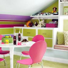 Фотография: Кухня и столовая в стиле Современный, Дом, Чердак, Мансарда – фото на InMyRoom.ru