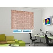 Рулонные шторы в офис: Греческий орнамент