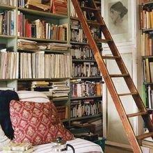 Фотография:  в стиле Кантри, Хранение, Стиль жизни, Советы, Мансарда, Подоконник – фото на InMyRoom.ru