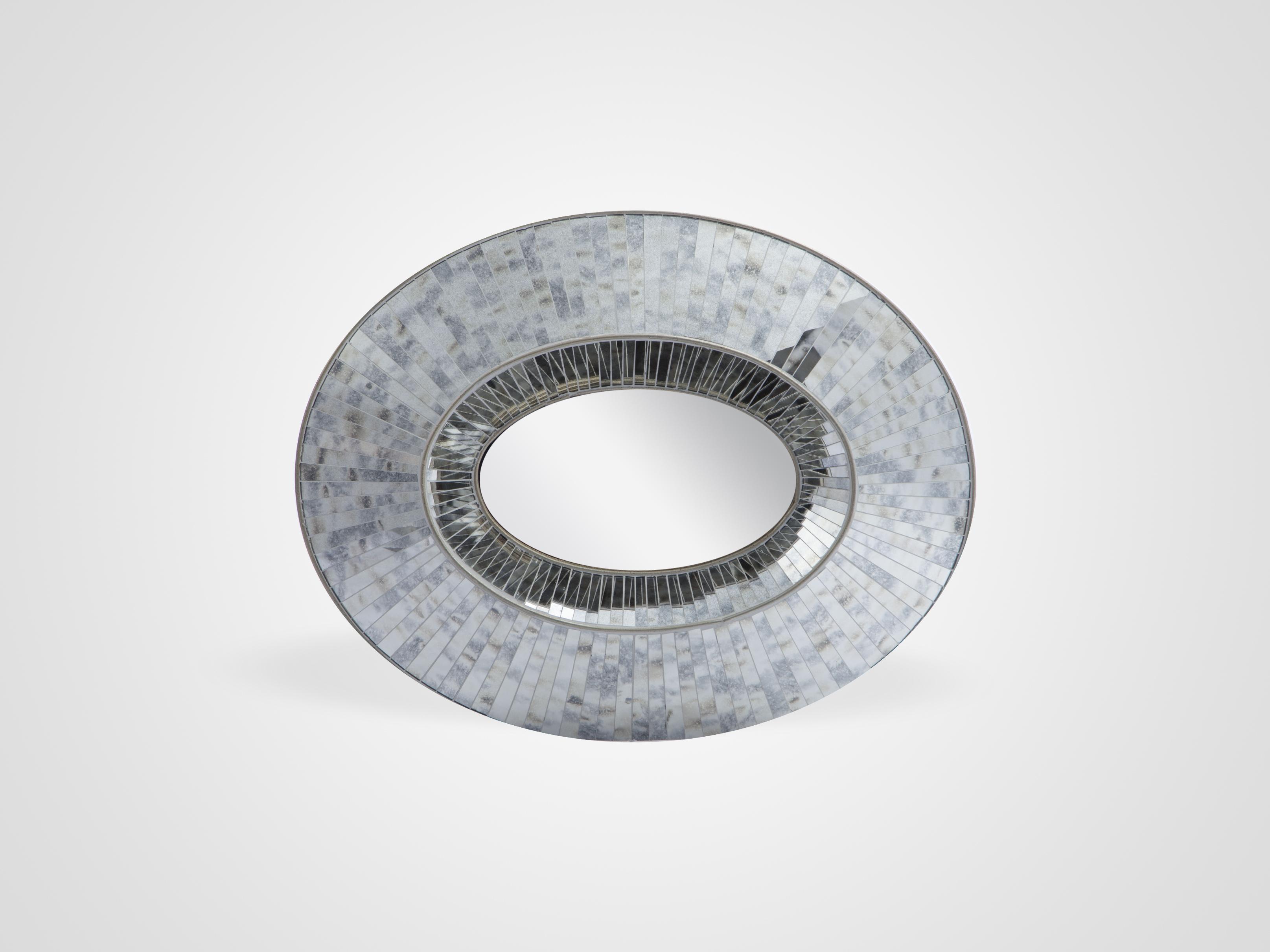Купить Зеркало настенное круглое, inmyroom, Китай