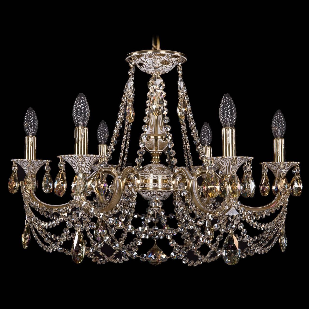 Купить со скидкой Подвесная люстра Bohemia Ivele с хрустальными подвесками