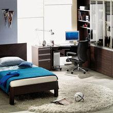 Фотография: Детская в стиле Современный, Кабинет, Интерьер комнат – фото на InMyRoom.ru