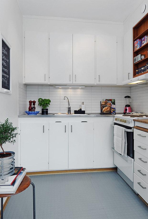 Фотография: Кухня и столовая в стиле Скандинавский, Советы, Ремонт на практике, Надежда Кузина – фото на InMyRoom.ru
