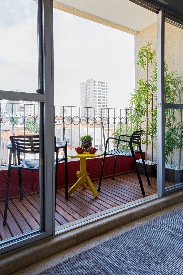 Фотография: Балкон в стиле Скандинавский, Минимализм, Советы, балкон в квартире – фото на INMYROOM
