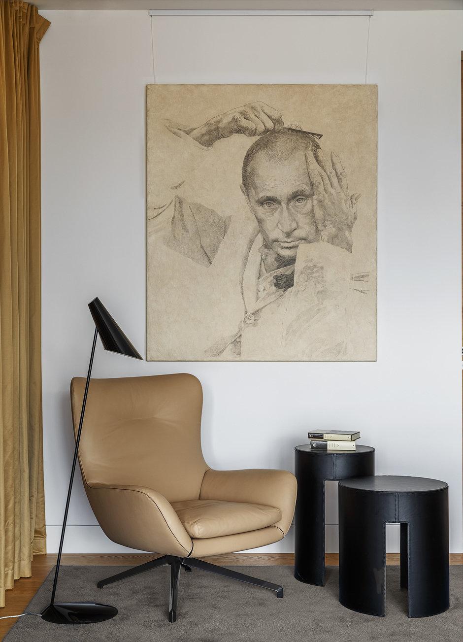 Фотография: Кабинет в стиле Современный, Проект недели, Москва, Более 90 метров, #эксклюзивныепроекты, ЖК «Легенда Цветного», Ab-architects – фото на InMyRoom.ru