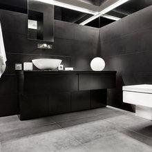 Фотография: Ванная в стиле Современный, Декор интерьера, Квартира, Дом, Дизайн интерьера, Цвет в интерьере – фото на InMyRoom.ru