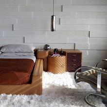 Фотография: Спальня в стиле Современный, Декор интерьера, DIY, Цвет в интерьере – фото на InMyRoom.ru