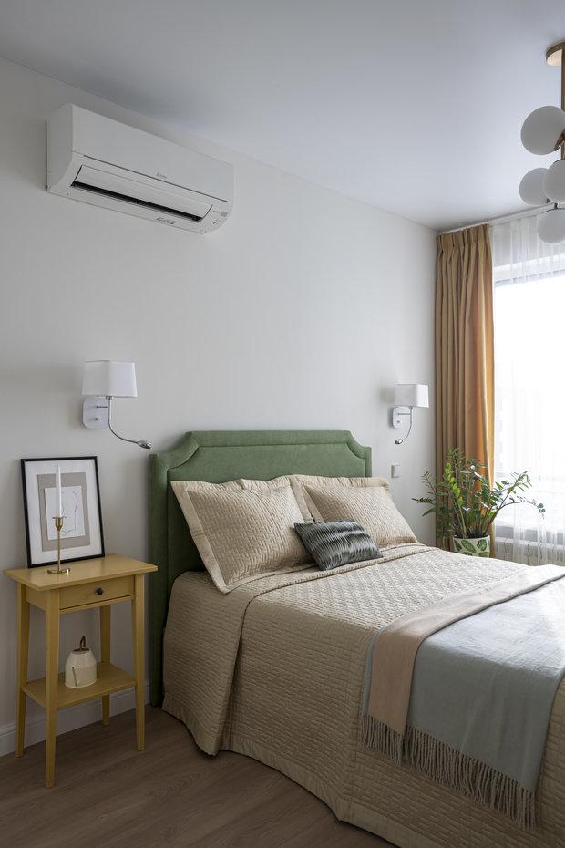 Текстиль делает интерьер более уютным и домашним.