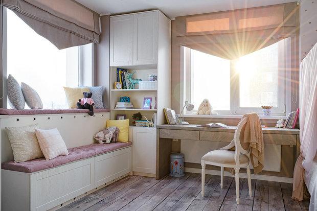 Фотография: Детская в стиле Классический, Квартира, Проект недели, Монолитный дом, 3 комнаты, 60-90 метров, Кемерово, Екатерина Усикова – фото на INMYROOM