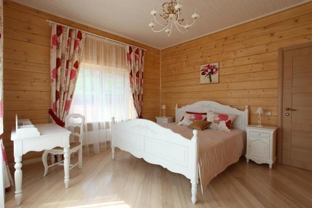 Фотография: Спальня в стиле Прованс и Кантри, Классический, Современный, Дом, Дома и квартиры, Средиземноморский, dom-iz-brusa – фото на InMyRoom.ru