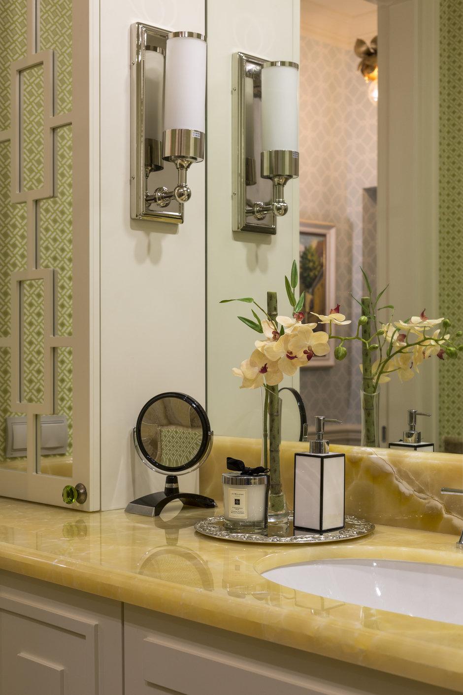 Фотография: Ванная в стиле Классический, Квартира, Проект недели, Москва, Сталинка, 3 комнаты, 60-90 метров, Марина Жукова – фото на InMyRoom.ru
