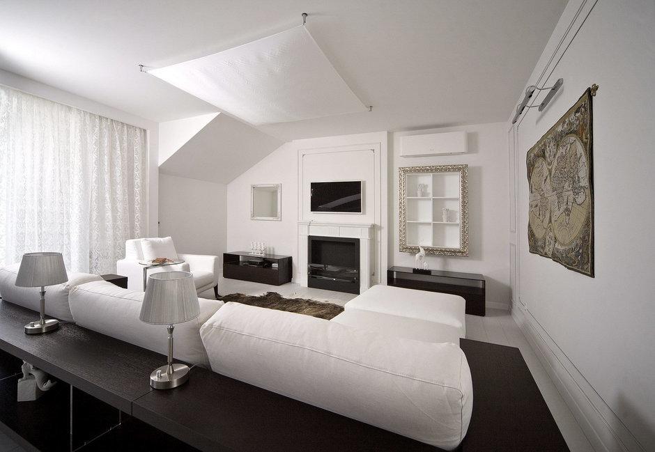 Фотография: Гостиная в стиле Современный, Квартира, Дома и квартиры – фото на InMyRoom.ru