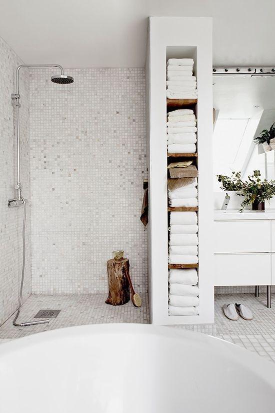 Фотография: Ванная в стиле Скандинавский, Декор интерьера, DIY, Интерьер комнат, Переделка – фото на InMyRoom.ru