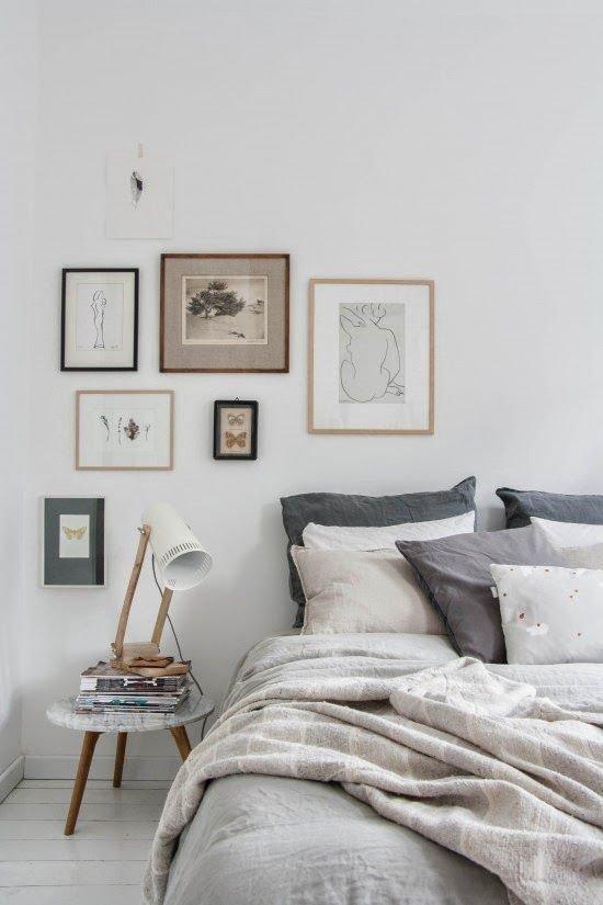 Фотография:  в стиле , Спальня, Декор интерьера, Советы, обновление интерьера за выходные – фото на InMyRoom.ru
