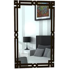 "Зеркало с классическим рисунком ""Марита"" черное"