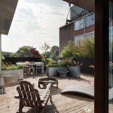 Фотография: Терраса в стиле Кантри, Квартира, Дома и квартиры, Лондон, Пентхаус – фото на InMyRoom.ru