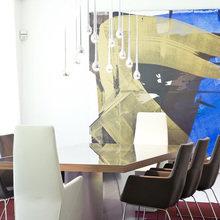 Фотография: Офис в стиле Современный, Кухня и столовая, Гостиная, Спальня, Классический, Квартира, Испания, Цвет в интерьере, Дома и квартиры, Бежевый, Подсветка, Перегородка – фото на InMyRoom.ru