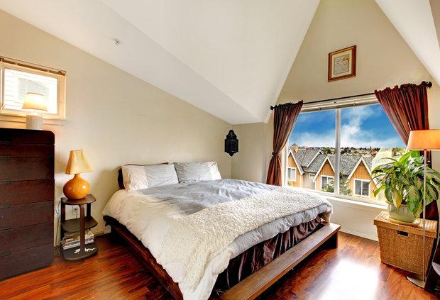Фотография: Спальня в стиле Современный, Дом, Дома и квартиры, Дача, Dulux – фото на InMyRoom.ru