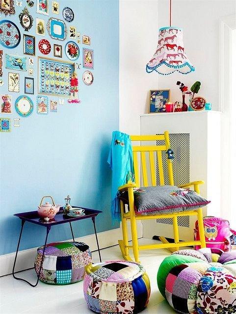 Фотография: Детская в стиле Скандинавский, Декор интерьера, Текстиль, Декор, Декор дома, Пэчворк – фото на InMyRoom.ru
