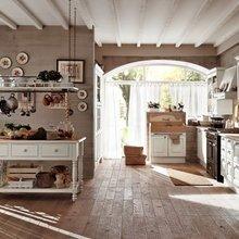 Фотография: Кухня и столовая в стиле Кантри, Классический, Современный, Стиль жизни, Советы, Тема месяца, Кухонный фартук – фото на InMyRoom.ru