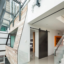 Фотография:  в стиле Лофт, Скандинавский, Современный, Квартира, Дома и квартиры – фото на InMyRoom.ru