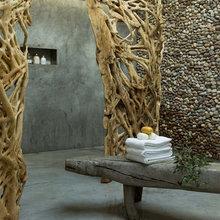 Фотография: Ванная в стиле Эко, Декор интерьера, Интерьер комнат – фото на InMyRoom.ru