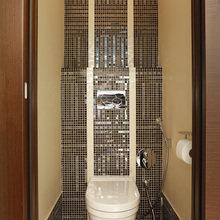Фотография: Ванная в стиле Современный, Хай-тек, Классический, Квартира, Проект недели – фото на InMyRoom.ru