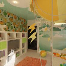 Фото из портфолио Спальня для мальчика путешественника – фотографии дизайна интерьеров на InMyRoom.ru