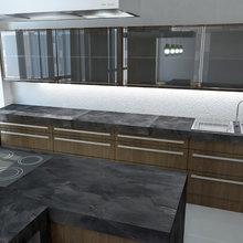 Фото из портфолио Однокомнатная квартира-трансформер – фотографии дизайна интерьеров на INMYROOM