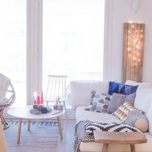 Фотография: Гостиная в стиле Скандинавский, Советы, Белый – фото на InMyRoom.ru