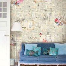 Фотография: Гостиная в стиле Кантри, Декор интерьера, Декор дома, Цвет в интерьере, Обои – фото на InMyRoom.ru