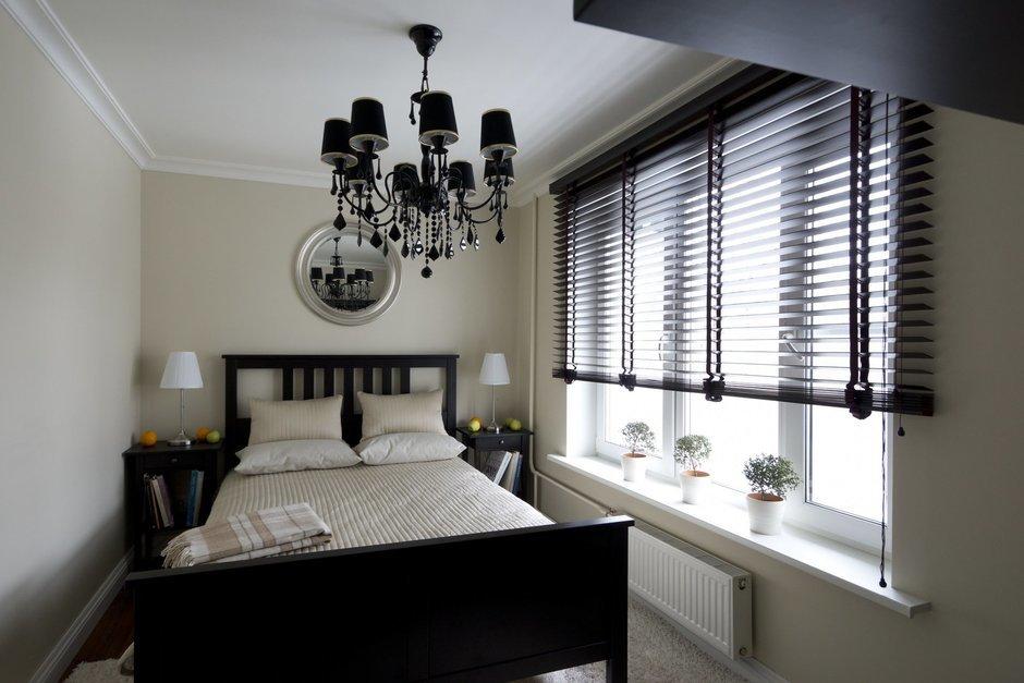 Фотография: Спальня в стиле Эклектика, Современный, Малогабаритная квартира, Квартира, Дома и квартиры – фото на InMyRoom.ru