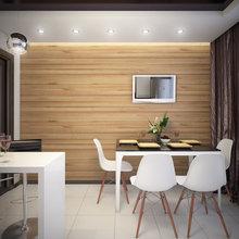 Фото из портфолио Проект квартиры для семьи из 4-х человек – фотографии дизайна интерьеров на INMYROOM