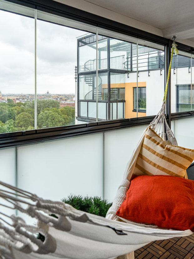 Фотография: Балкон в стиле Современный, Квартира, Проект недели, Санкт-Петербург, 4 и больше, Более 90 метров, US Interiors – фото на INMYROOM
