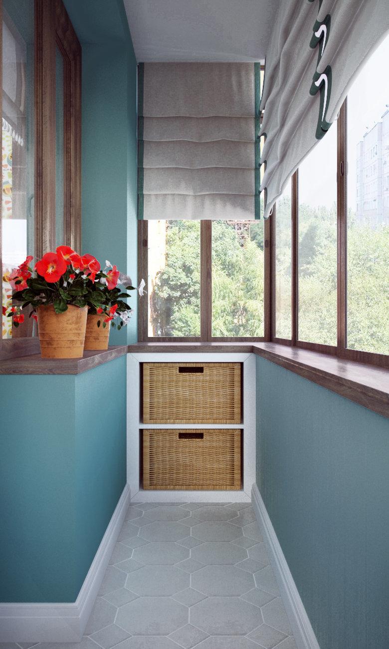 Балкон - Ідеї декору.