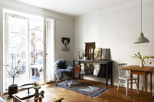 Фотография: Гостиная в стиле Скандинавский, Советы, Est-a-tet, купить квартиру в новостройке, покупка квартиры, сэкономить на покупке квартиры, как сэкономить на покупке квартиры – фото на InMyRoom.ru