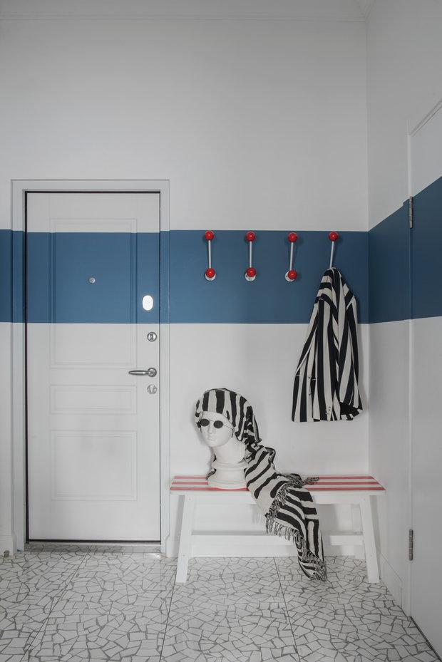 Фотография: Прихожая в стиле Скандинавский, Современный, Квартира, Проект недели, 2 комнаты, 40-60 метров, Света Хабеева – фото на INMYROOM