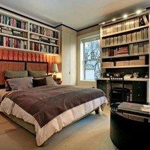 Фотография: Спальня в стиле Эклектика, Квартира, Дома и квартиры, Интерьеры звезд, Нью-Йорк – фото на InMyRoom.ru