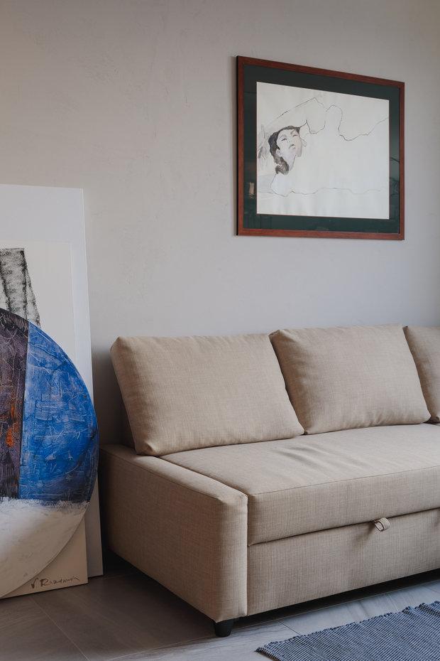 Фотография: Кабинет в стиле Современный, Квартира, Минимализм, Проект недели, Москва, 3 комнаты, 40-60 метров, Валерия Москалева – фото на INMYROOM