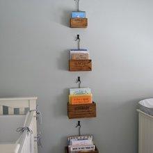 Фотография: Декор в стиле Кантри, Современный, Детская, Интерьер комнат, Системы хранения – фото на InMyRoom.ru