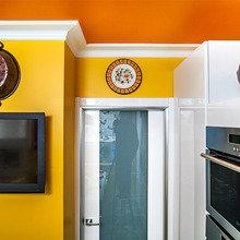 Фотография: Декор в стиле Кантри, Современный, Эклектика, Кухня и столовая, Интерьер комнат – фото на InMyRoom.ru