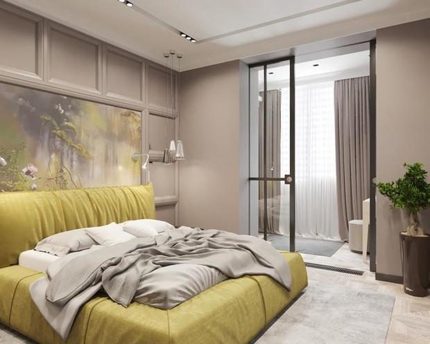 Фотография: Спальня в стиле Современный, Советы, Перепланировка, Марина Лаптева – фото на InMyRoom.ru