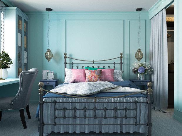 Фотография: Спальня в стиле Восточный, Квартира, Проект недели, Москва – фото на INMYROOM