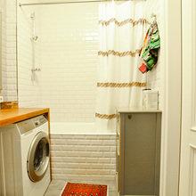 Фотография: Ванная в стиле Современный, Скандинавский, Квартира, Проект недели – фото на InMyRoom.ru