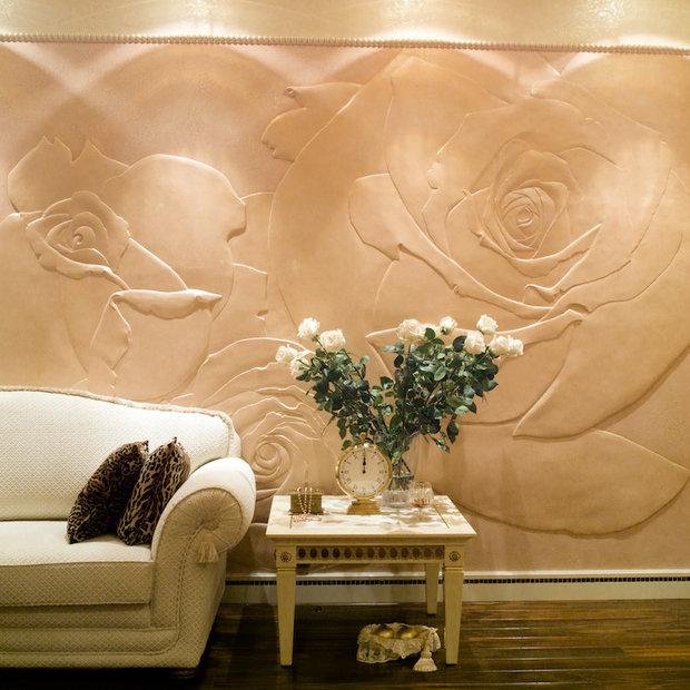 Фотография: Гостиная в стиле Классический, Современный, Декор интерьера, Флористика, Декор, Декор дома, Марат Ка, Зимний сад – фото на InMyRoom.ru