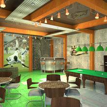 Фото из портфолио Спорт-бар – фотографии дизайна интерьеров на InMyRoom.ru